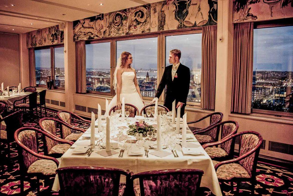 Bryllupsmenuen