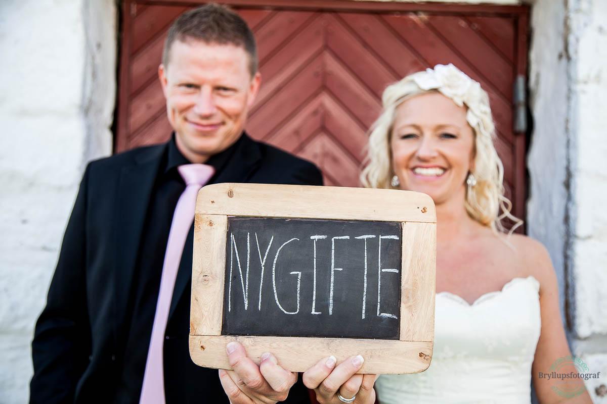 sjove bryllupsbilleder